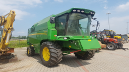 Combine harvester John Deere W 330 WITH HEDER AND TABLE FOR RAPE
