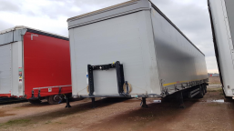 AUCTION OF THE DAY KOEGEL SN24 Curtain trailer
