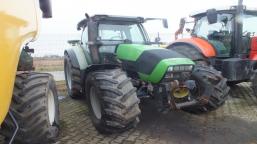 DEUTZ FAHR AGROTRON K610 T22 + TUR farm tractor