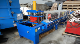 Semi-automatic production line for ridge ridge tiles AZBI ALT GS 400 serial number 020-09 / 20.09.11