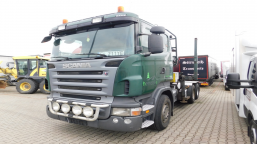 AUCTION OF THE DAY SCANIA R480 Euro 5 12740ccm - 480HP 19/26t 09-13