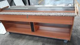 Bartscher Buffet T 6x GN 1/1 heating counter