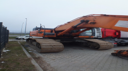 DOOSAN DX530LC-3 CRAWLER EXCAVATOR tracked excavator