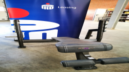 Reverse oblique bench with OLIMP & OLYMP stand