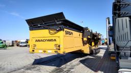 Przesiewacz mobilny Anaconda SR514 2 deck