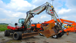 TAKEUCHI TB295W Hydraulic Excavator wheeled excavator
