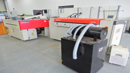 Printing machine. AGFA CTP system with AVALON N8 platesetter
