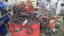 Welding kits (power sources + automats) LINCOLN