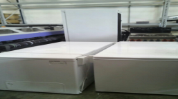 2 pcs. Chest freezers with serial numbers: 836965900 and 836965924