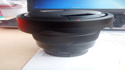 Sony 16-35 mm f / 4 Zeiss Vario-Tessar ZA OSS lens and DJI RONIN-S STABILIZER