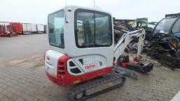 TAKEUCHI TB216 COMPACT EXCAVATOR mini tracked excavator