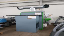 Ogrzewacz pomieszczenia opalany peletem COVLAND ORTE POWER 130 kW
