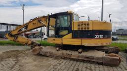 CATERPILLAR 321C LCR tracked excavator
