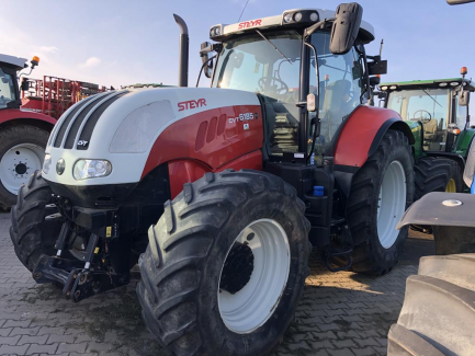 Steyr 6185 CVT Eco-Tech farm tractor