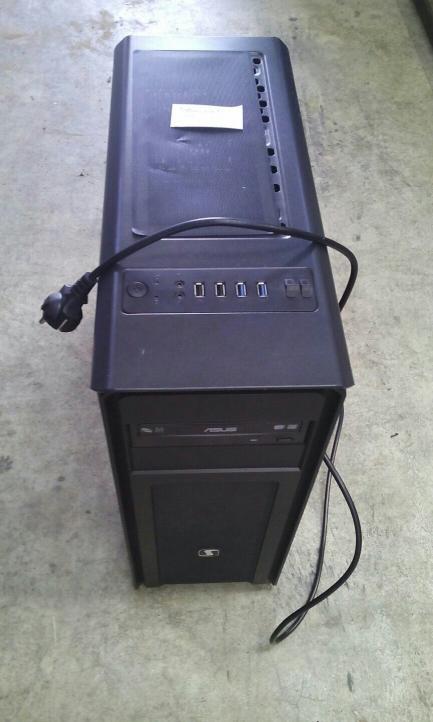Komputer stacjonarny ASUS Tesla GS-500 i7-6700/GTX1080/16GB/240GB+1TB o numerze seryjnym: UAUUKFRU7PNX