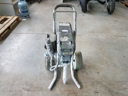 Aggregate painting Airlessco TS1500 17AO17