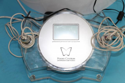 Cosmetic equipment for permanent make-up