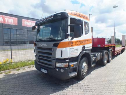 Package Auction SCANIA P420 Euro 5 11700ccm - 420HP + ES-GE 4SOU-25-29 2N