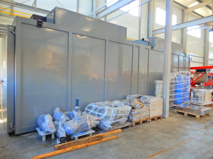 Powder coating line Service-Tech