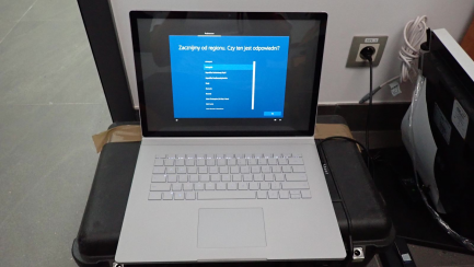 Laptop 2 in 1 Microsoft Surface Book 2 15 inches i7 together with Pencil Microsoft Surface.