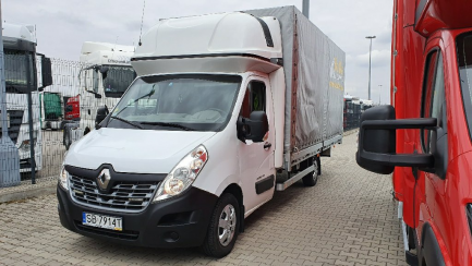 AUCTION OF THE DAY RENAULT/MOTOWEKTOR MASTER dCi 170 Energy Euro 6 2299ccm - 170HP 3,5t