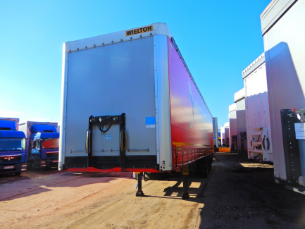WIELTON NS-3 NS3K curtain semi-trailer
