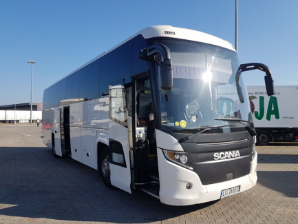 HIGER SCANIA Touring Euro 6