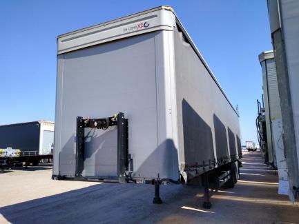 KOGEL S 24-1 Curtain trailer