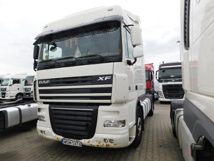 AUCTION OF THE DAY DAF FT XF105.460 Euro 5 12902ccm - 462HP 18/26t 06-13