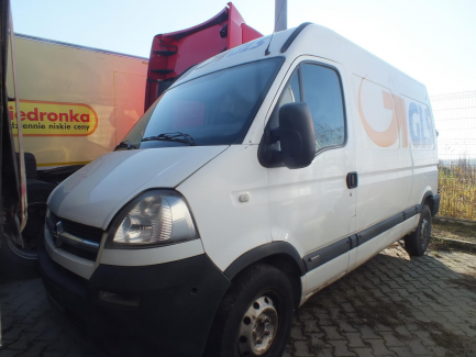 AUCTION OF THE DAY Opel Movano CDTI Euro 4 2463ccm - 100HP 3,3t 06-10