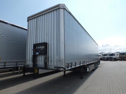 Curtain semi-trailer KAESSBOHRER XS MAXIMA