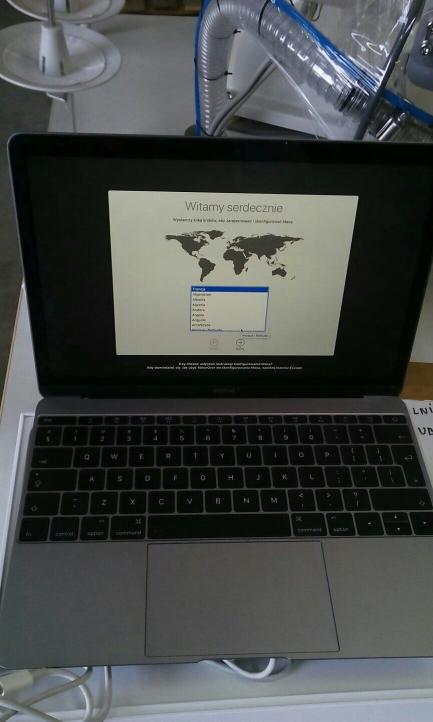 Apple MacBook 12-inch Retina: 1.2GHz Dual-Core Intel Core m5, 512GB - nr seryjny: C02SX05HGTHV