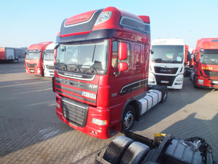 AUKCJA DNIA DAF FT XF105.460 4x2 LD SuperSpaceCab Euro 5