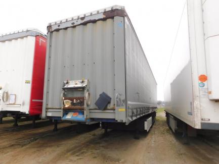KRONE SDP27 PROFI LINER curtain semi-trailer