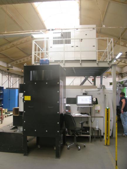 Przemysłowa wycinakra laserowa TCI Cutting Smartline Fiber 3015