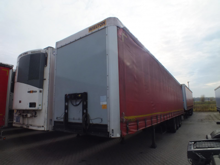 WIELTON NS-3 curtain semi-trailer
