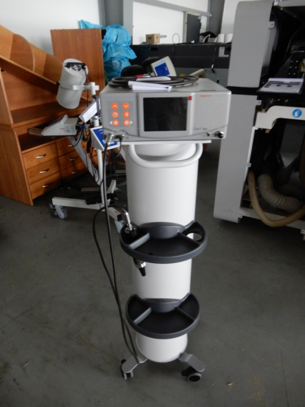 A set of physiotherapy equipment