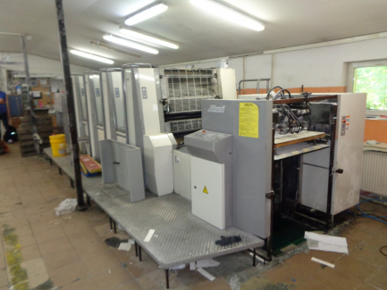 Sakurai Oliver 475 SDW offset printing machine