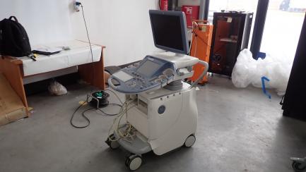 GE Healthcare Voluson E8 ultrasound scanner