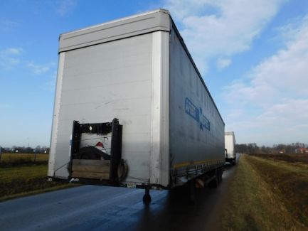 MEGA KOGEL SN 24 curtain semi-trailer