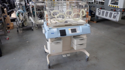 Closed incubator DRAGER C2PS-1 Isolette 8000
