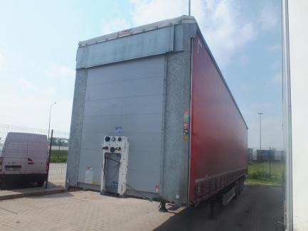 MEGA FLIEGL SDS 350 curtain semi-trailer