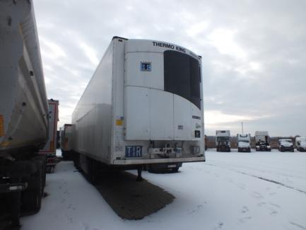 Refrigerator semi-trailer SCHMITZ CARGOBULL SCB*S3B