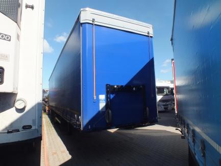 MEGA KOGEL SN24-1 curtain semi-trailer