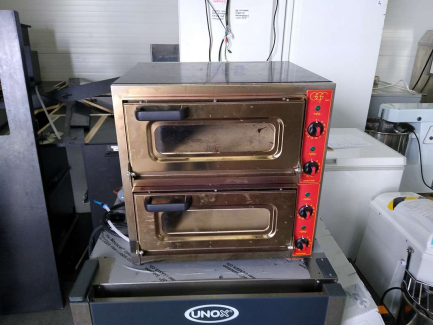 2-chamber pizza oven