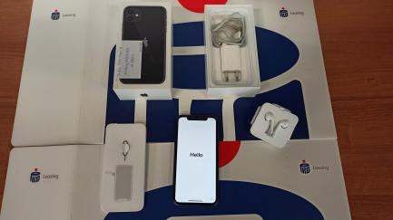 Смартфон Apple iPhone 11, 64 ГБ - чорний MWLT2PM / A