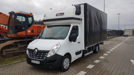 AUCTION OF THE DAY RENAULT/CARPOL MASTER dCi 170 Energy Euro 6 2299ccm - 170HP 3,5t