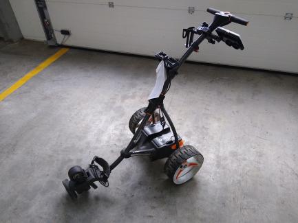 Wiosenne obniżki| Prowizja 0% Дистанційний візок для гольфу Motocaddy S7