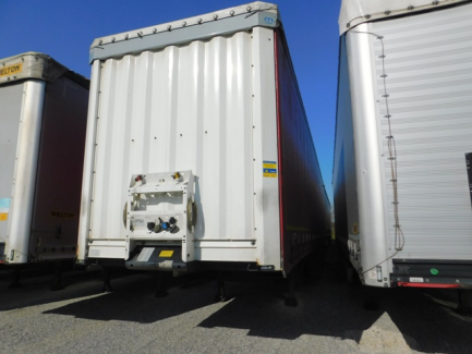 AUCTION OF THE DAY KRONE SD Curtain trailer