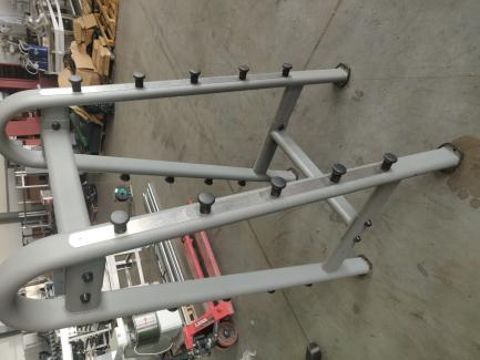 Stojak na 10 sztang - owalna rama - Barbell Rack - Oval Frame JORDAN